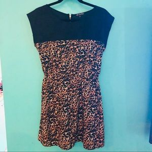 Leopard Print Dress for a Night Out